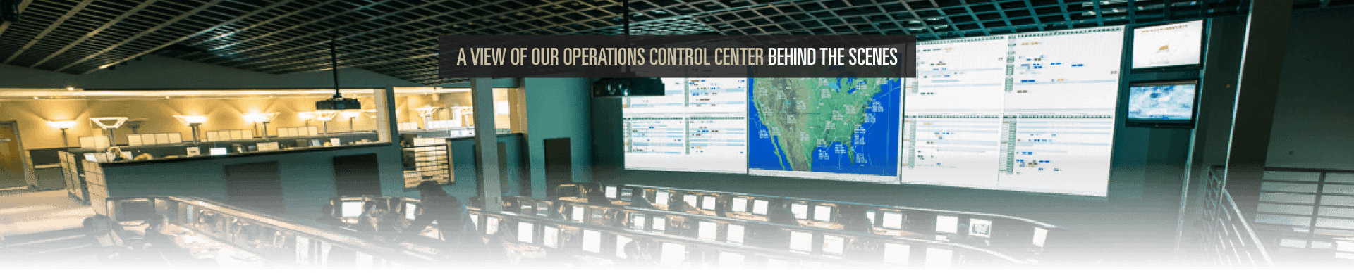 Tour Flight Options state-of-the-art Operations Center
